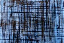 Reverse Abstract Acrylic/Double Plexi/Birch Mount