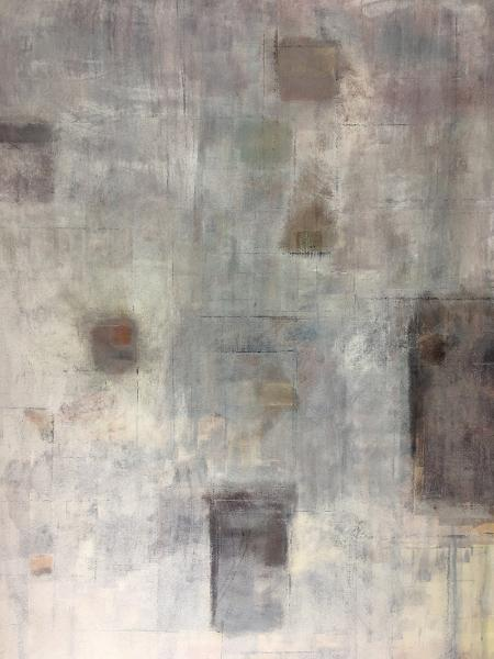 image of painting by artist Martha Hope Carey entitled Sequencing