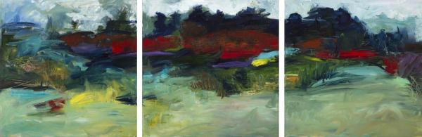 Drive By Landscape_triptych