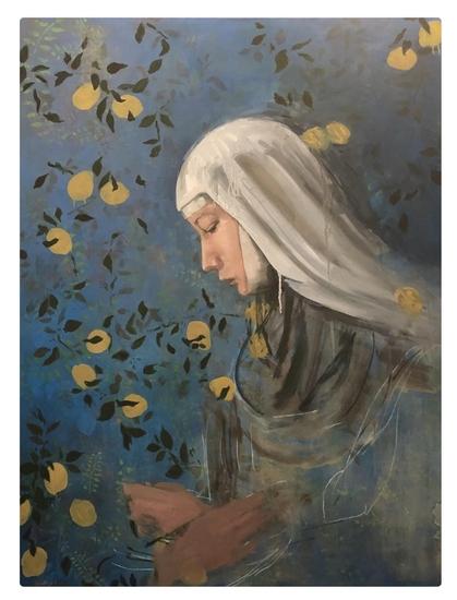 renaissance painter, women artist, nun,