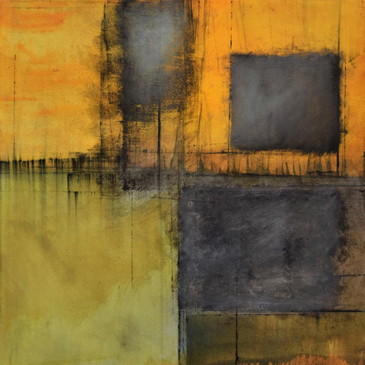 image of painting by artist Martha Hope Carey entitled Withstanding